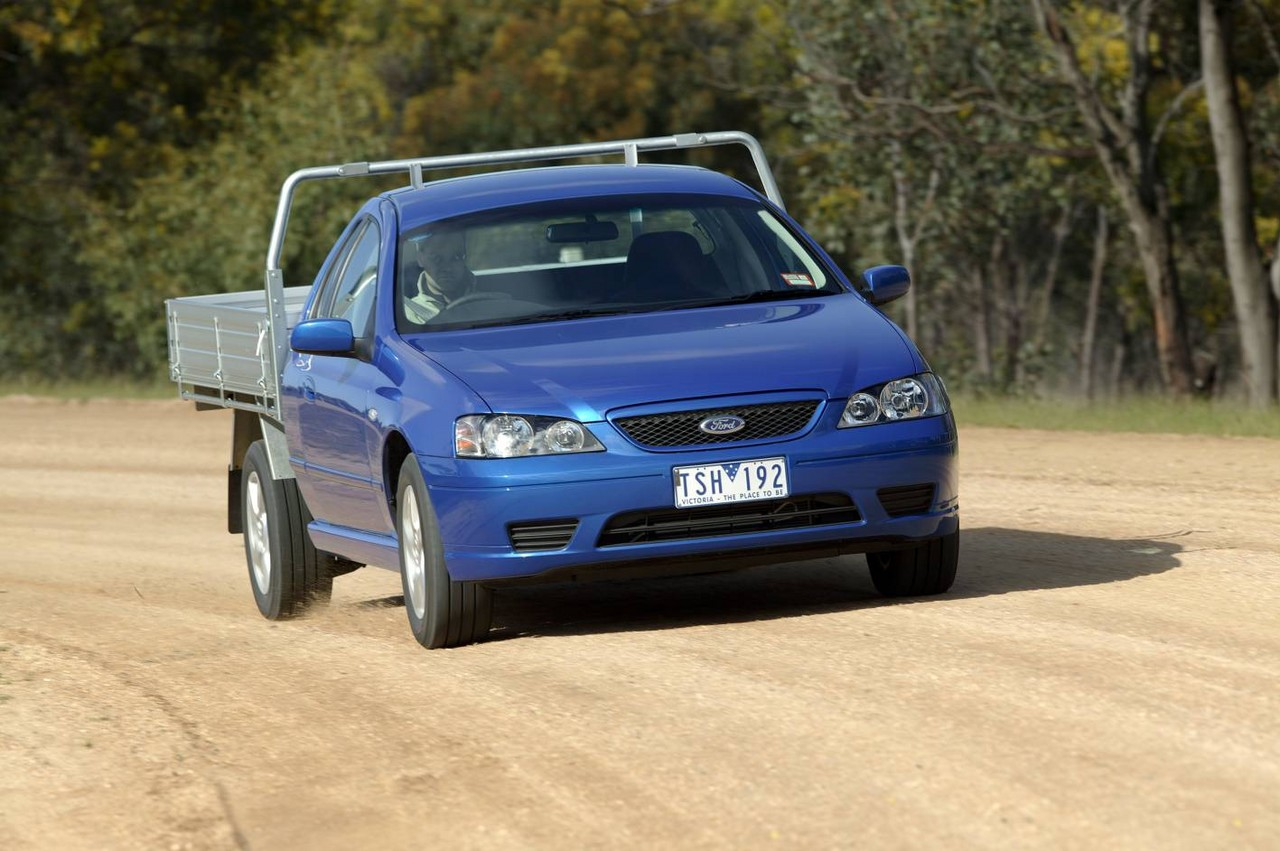 Ford Bf Falcon Ute And Cab Chassis Review 2005 08 Ba Wiring Diagram
