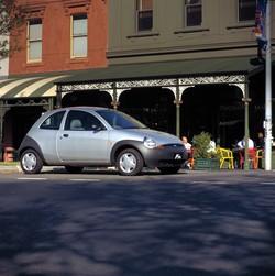 Ford Ta Ka Silver Profile Melbourne Australia