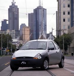 Ford Ta Ka Silver Front Angle Melbourne Arts Centre Australia
