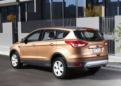 2013 Ford TF.I Kuga Ambiente: bronze rear quarter (Australia)