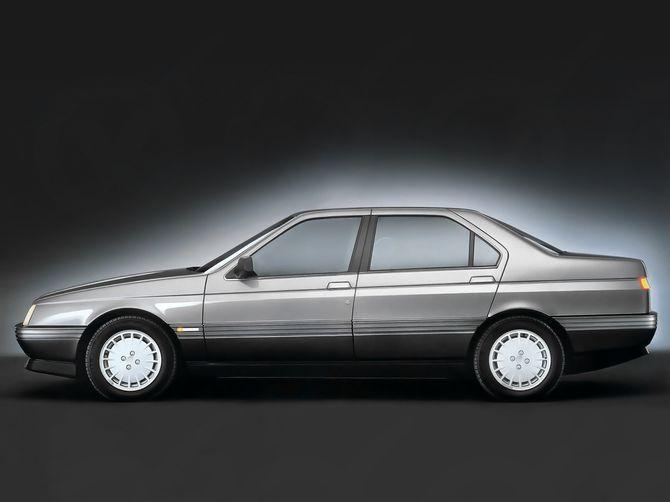 Review Alfa Romeo 164 1989 92