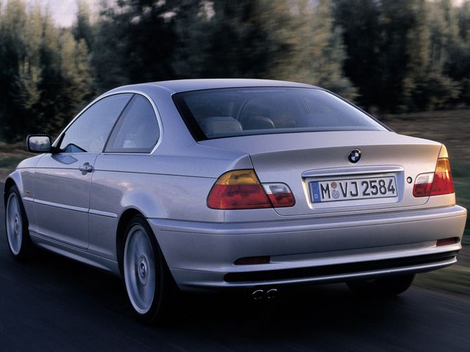review bmw e46 3 series coupe 1999 06. Black Bedroom Furniture Sets. Home Design Ideas