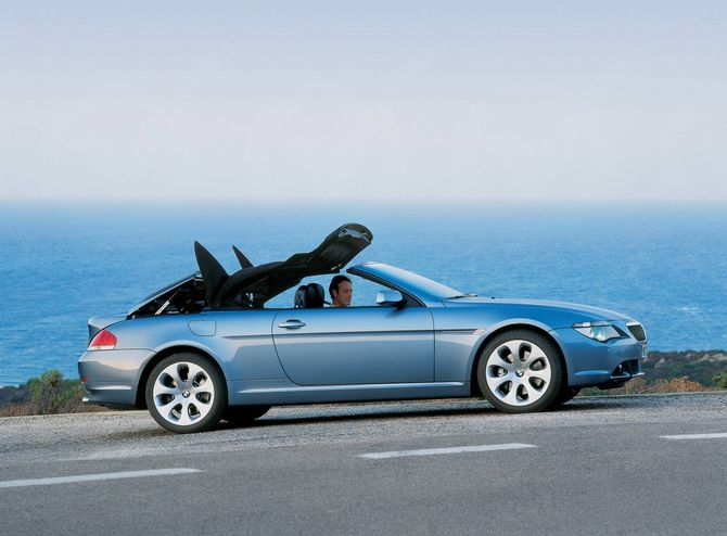Review Bmw E64 6 Series Convertible 2004 10