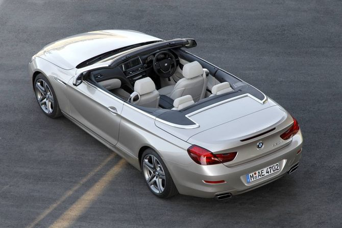 Review Bmw F12 6 Series Convertible 2011 On