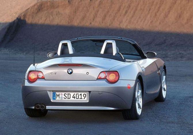 Review Bmw E85 Z4 Roadster 2003 09