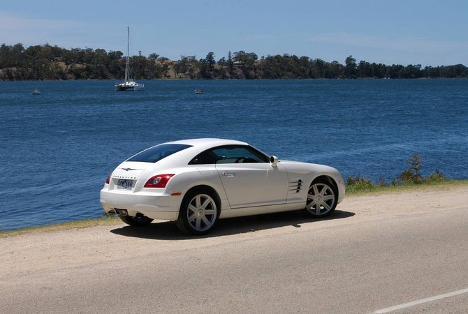 Review chrysler zh crossfire coupe 2003 08