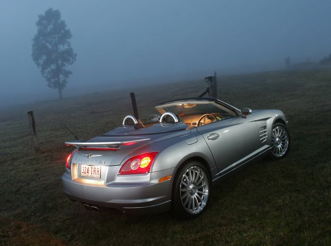 review chrysler zh crossfire roadster 2004 08. Cars Review. Best American Auto & Cars Review
