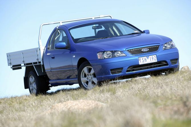 Ford Bf Falcon Ute And Cab Chassis Review 2005 08