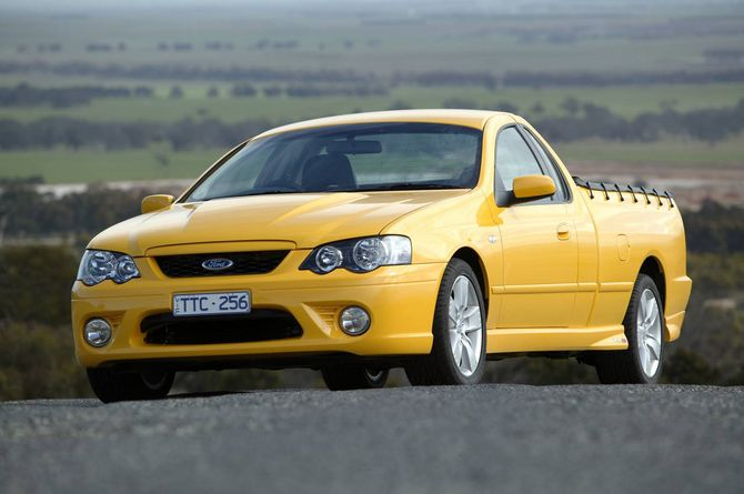 Review Ford Bf I Falcon Ute