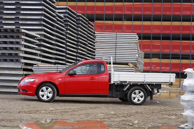 Ford FG Falcon Ute and Cab Chassis Review (2008-14)