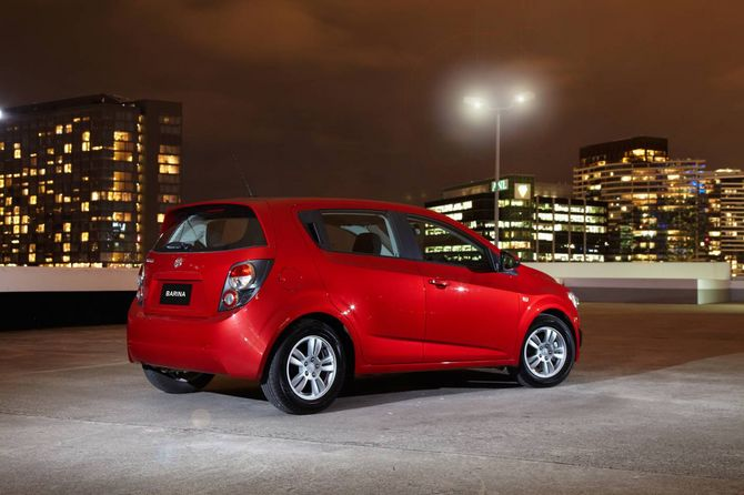 Review Holden Tm Barina 2011 On