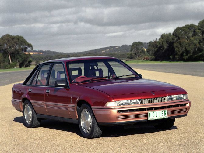 1986 Holden Vl: Review: Holden VL Calais (1986-88