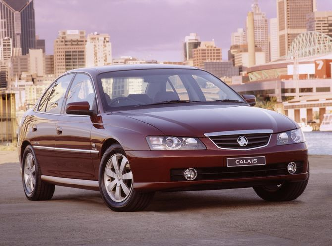 review  holden vy calais  2002