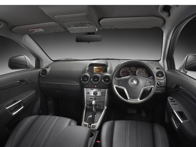 Review Holden Cg2 Captiva 2011 On