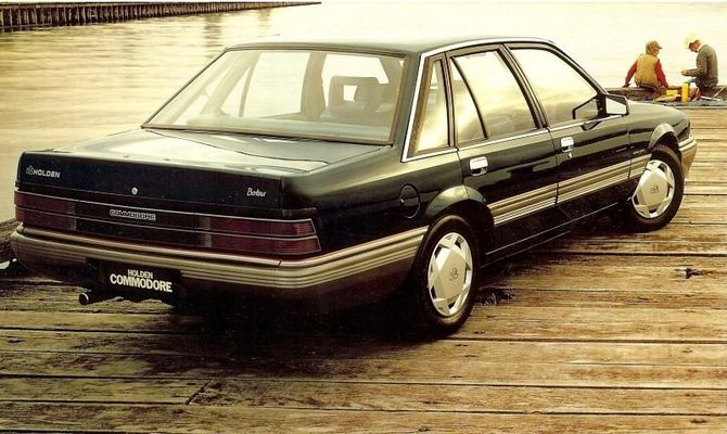1986 Holden Vl: Review: Holden VL Commodore (1986-88
