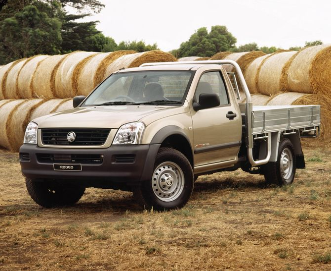 Holden Rodeo Cab Chassis Review (RA: 2003-08)