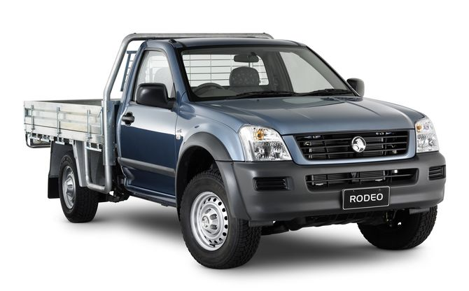 Review Holden Ra Rodeo Cab Chassis 2003 08