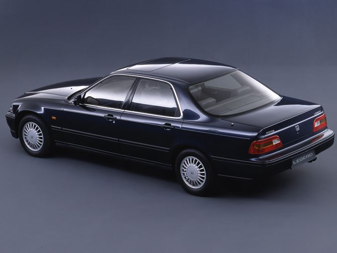 Honda Legend Review (KA7/KA8: 1991-96) - Coupe, Sedan
