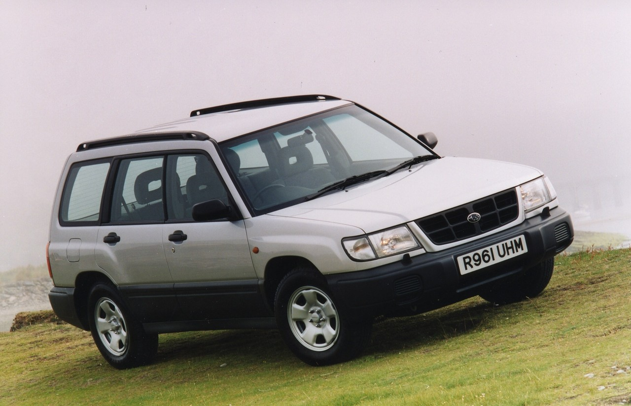 Subaru SF Forester Review 1997 02 GX Limited And GT