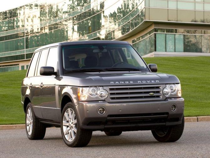 review land rover l322 range rover vogue 2005 12. Black Bedroom Furniture Sets. Home Design Ideas