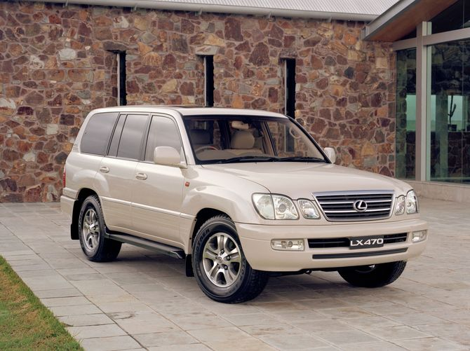 Lexus LX470 Review (100-Series: 1998-07)