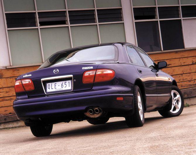Review mazda ta millenia 2000 03 for Mercedes benz millenia