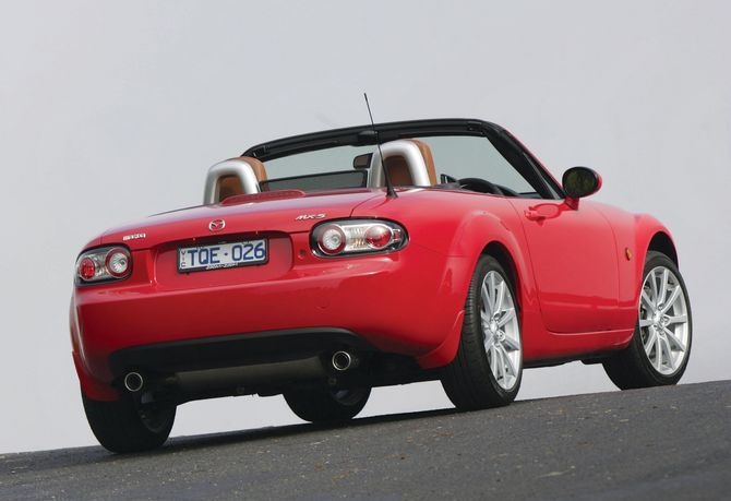 Review  Mazda NC    MX5     200514