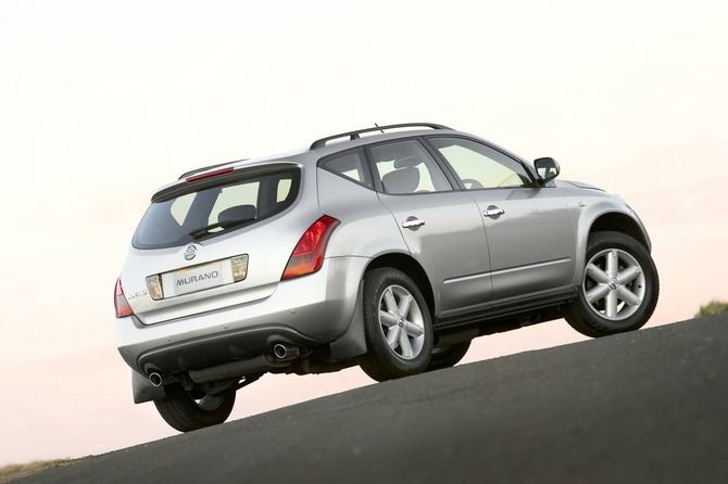 Nissan Murano Review Z50 2005 08 St Ti And Ti L