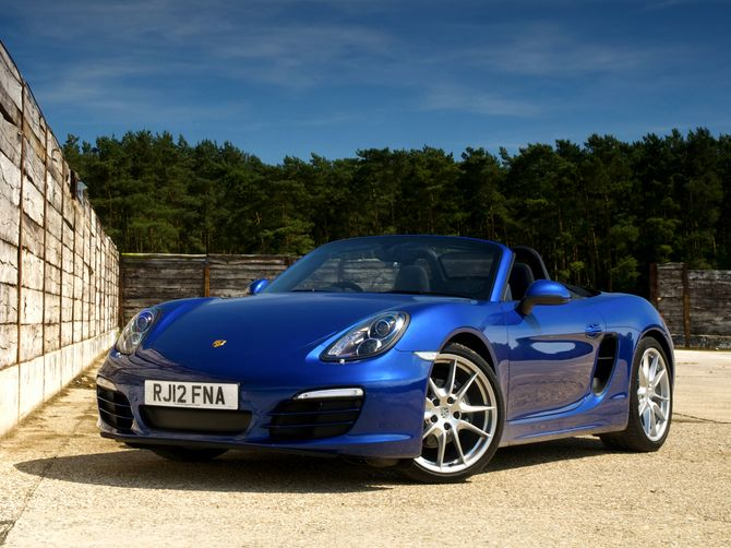 review porsche 981 boxster 2012 on. Black Bedroom Furniture Sets. Home Design Ideas