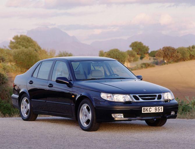 Review Saab Mk1 I 9 5 Sedan 1997 01