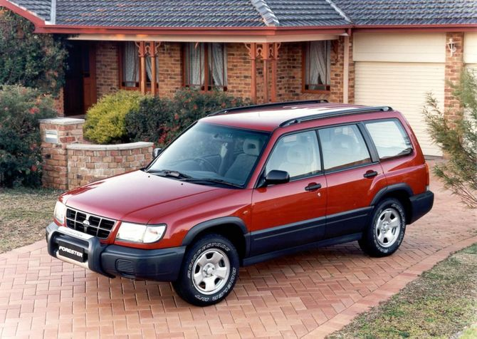 II Forester 1998 99