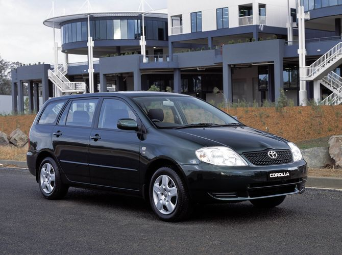 Review: Toyota E120.I Corolla (2001 04)