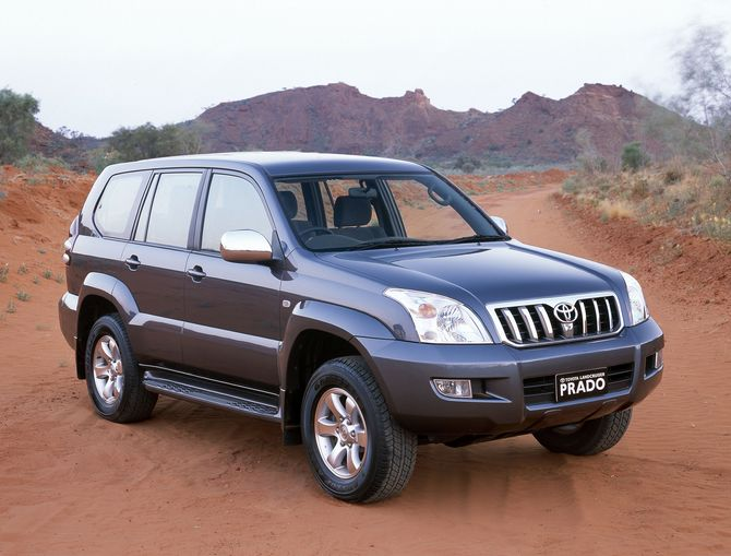 review  toyota 120 landcruiser prado  2003
