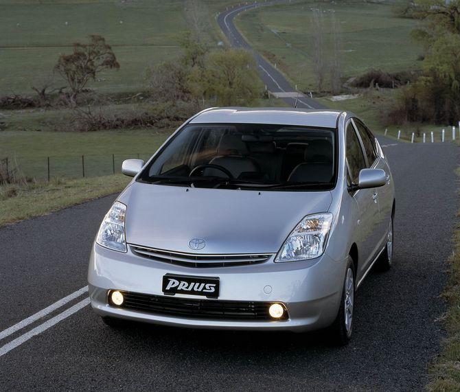 2003 Toyota Prius Transmission: Review: Toyota XW20 Prius (2003-09