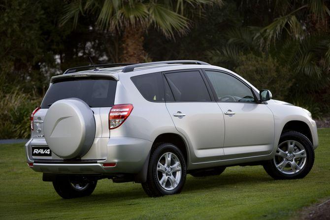 Review: Toyota XA30.II RAV4 (2008 12)
