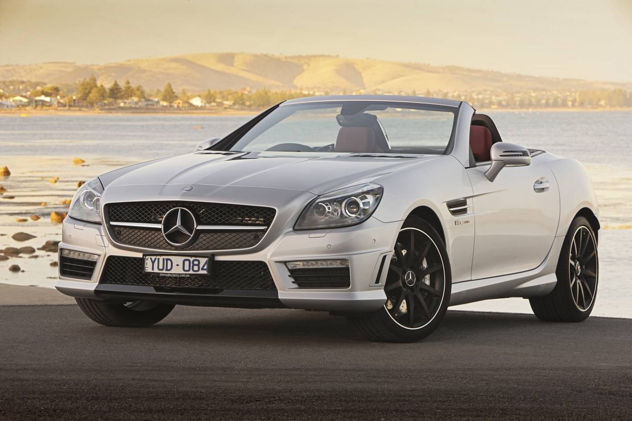 Review: Mercedes R172 SLK 55 AMG (2012-15) | M152 V8