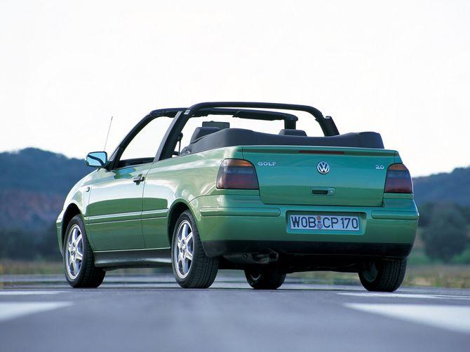 volkswagen golf cabriolet 1998 review