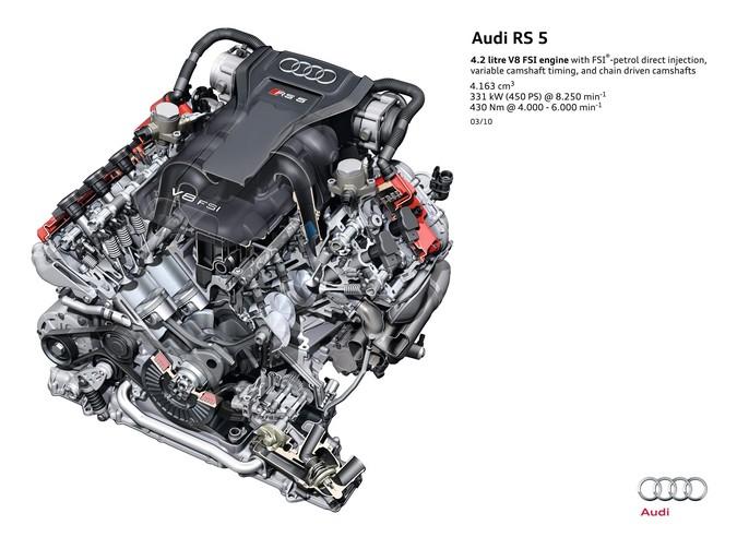 Cfsa 42 Fsi V8 Engine Audi B8 Rs4 And 8t Rs5