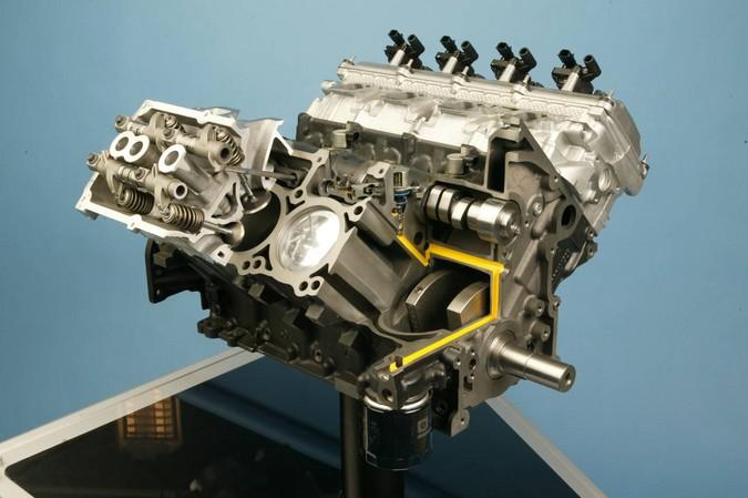 5 7L HEMI V8 engine EZB 2003 09