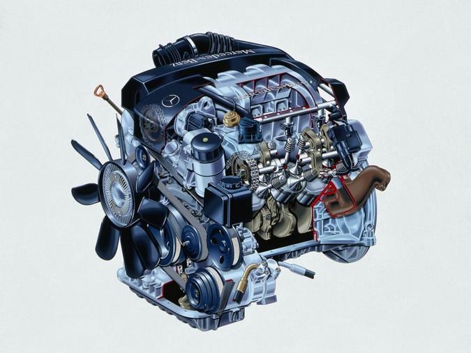 Mercedes benz m112 engine for Mercedes benz m272 engine