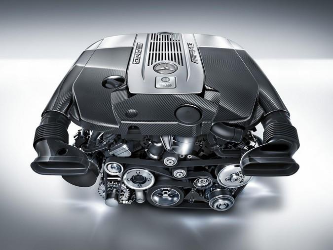 Mercedes M Engine Ser on V12 Diesel Car