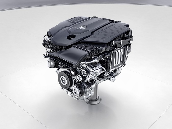 Mercedes benz om656 diesel i6 engine for Mercedes benz diesel truck engines