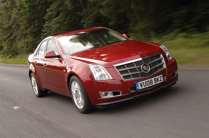 Review  Cadillac Cts  2008